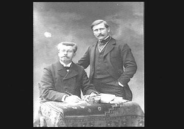 Paul Margueritte, écrivain et Victor