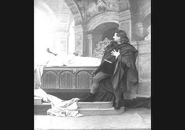 Emile Cossira, tenor, dans 'Ascanio'