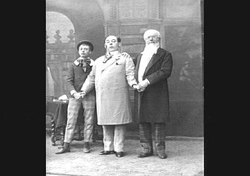 MM. Bartel, Liesse et Dacheux, dans 'Le Pays de l'or '