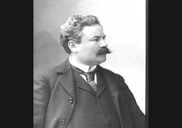 M. Porel, directeur du théâtre de l'Odéon