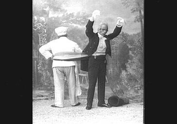 MM. Riga et Vavasseur, dans 'Cliquette'