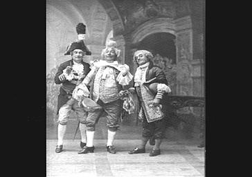MM. Lucien Fugère, Bienfait et Modot, dans 'Surcouf'