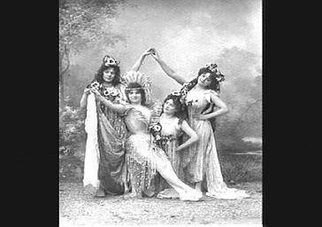 Danseuse, dans 'Panurge'