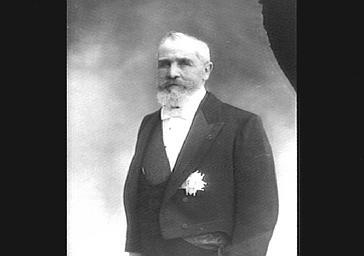 Emile Loubet, président de la République