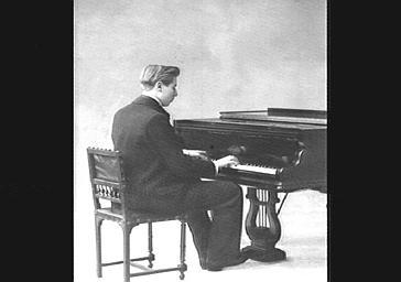 Armand Ferté, pianiste