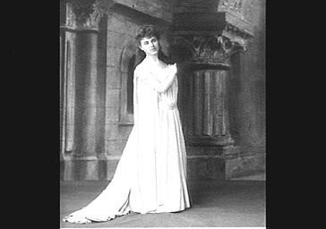 Bessie Pickens, dite Abott, dans 'Roméo et Juliette'