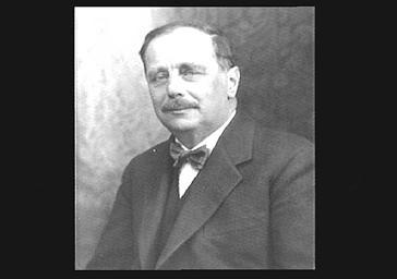 Herbert George Wells, écrivain anglais