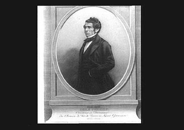 Emile Péreire, créateur et directeur du chemin de fer Paris-Saint-Germain-en-Laye