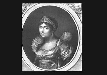 Impératrice Joséphine de Beauharnais, reproduction photographique d'un portrait