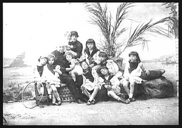 Ferdinand de Lesseps, ingénieur, et sa famille