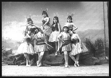 Groupe de danseuses