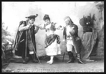 MM. Guyon et Gobin, Zelo Duran, dans 'Juanita'