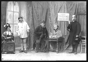 Acteurs de la 'Tournée Brasseur'