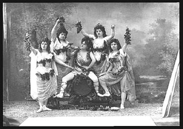 Groupe de Bacchus, dans 'Panurge'