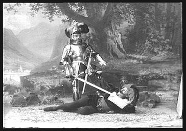 Lucien Fugère, baryton et Landrin, dans 'Panurge'