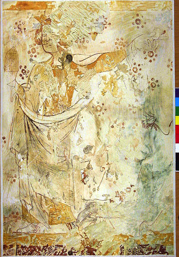 Peinture monumentale : Noli me tangere, Martyre de sainte Catherine