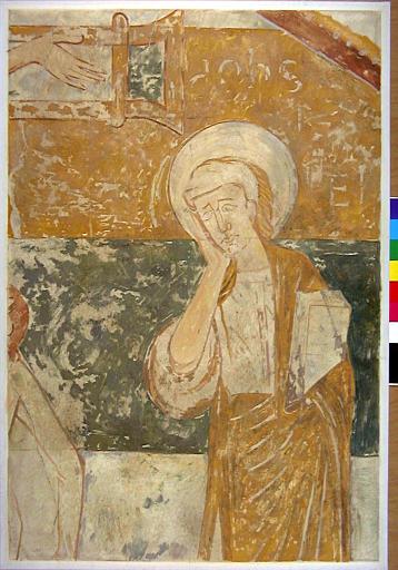 Détail de la crucifixion, saint Jean