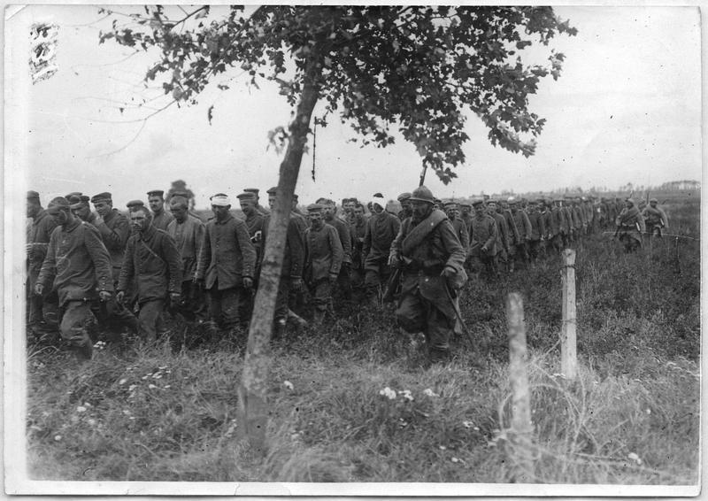 Convoi de prisonniers allemands