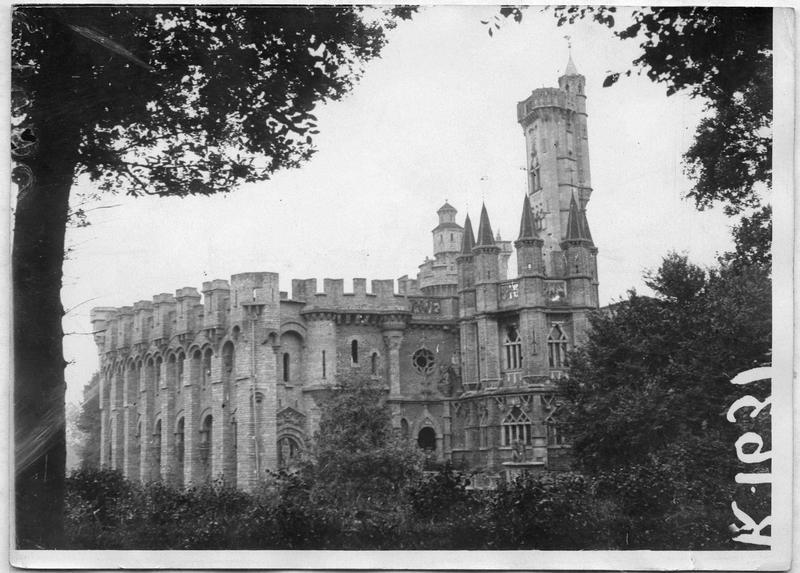 Le château, vue d'ensemble