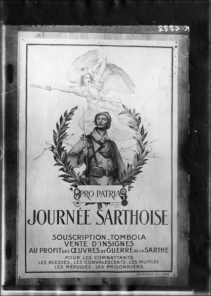 Affiche de la Journée sarthoise