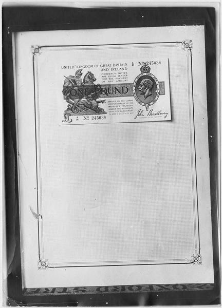 Papier-monnaie de Grande-Bretagne et d'Irlande