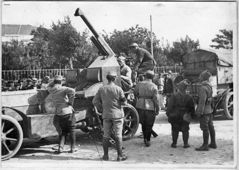 Camion d'artillerie
