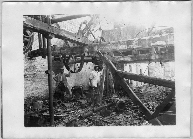 Destruction de la sucrerie Labruyère