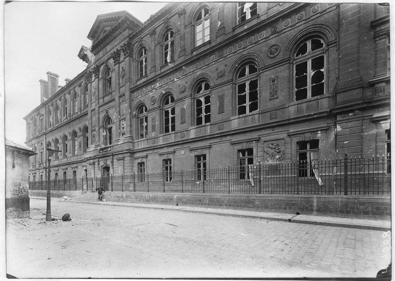 Etat de la façade, rue Lesueur