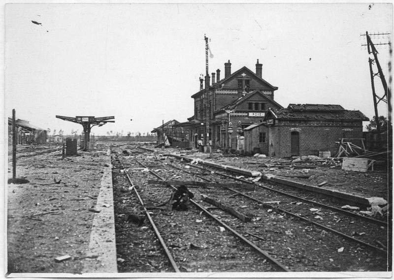 La gare, vue générale