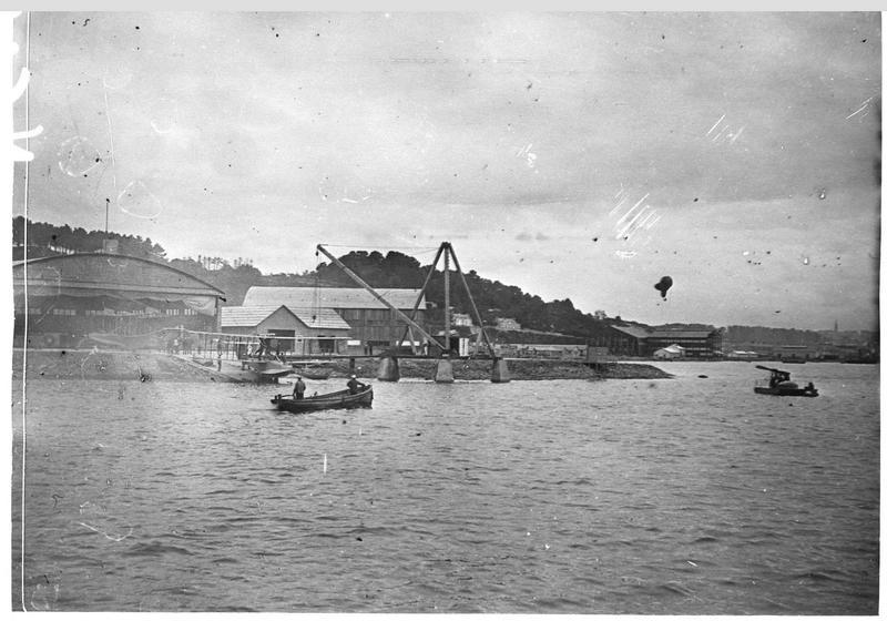 Le hangar des hydravions de Brest-Laninon