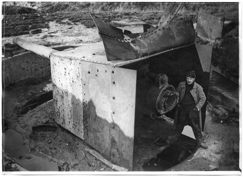 Défenses côtières allemandes, batterie Cecilia, la deuxième pièce