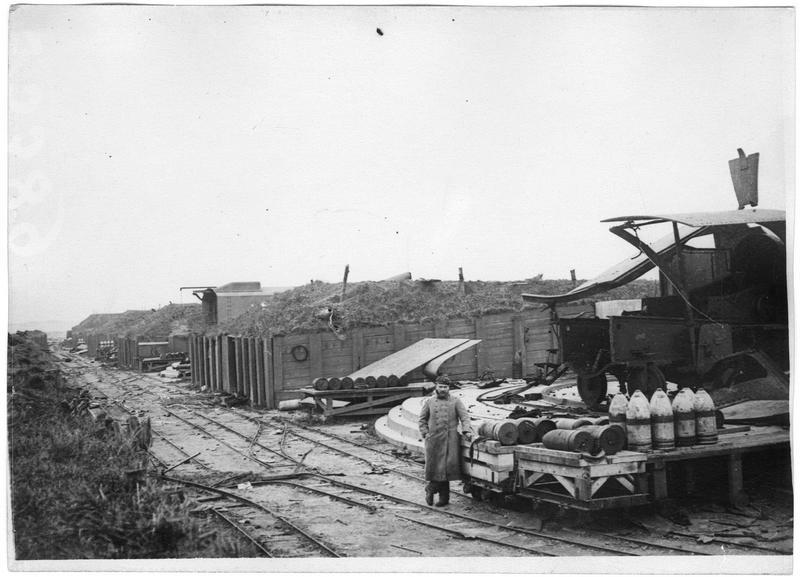Défenses côtières allemandes, vue générale de la batterie Hindenburg