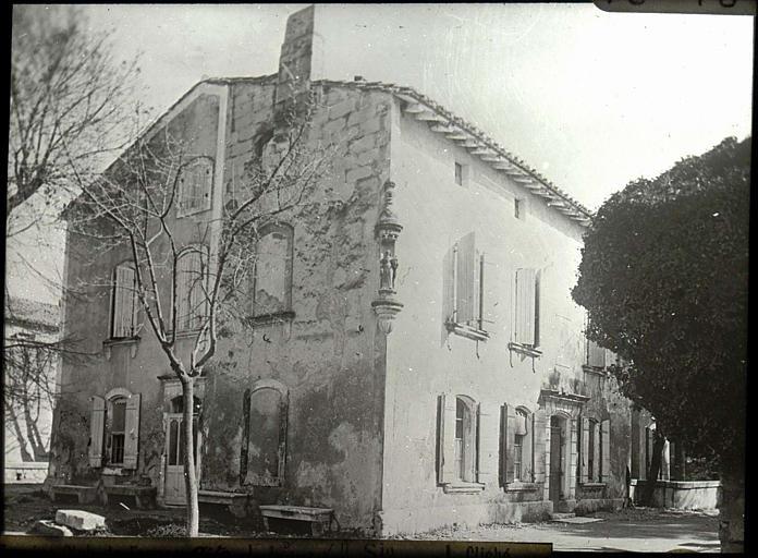 Angle des façades
