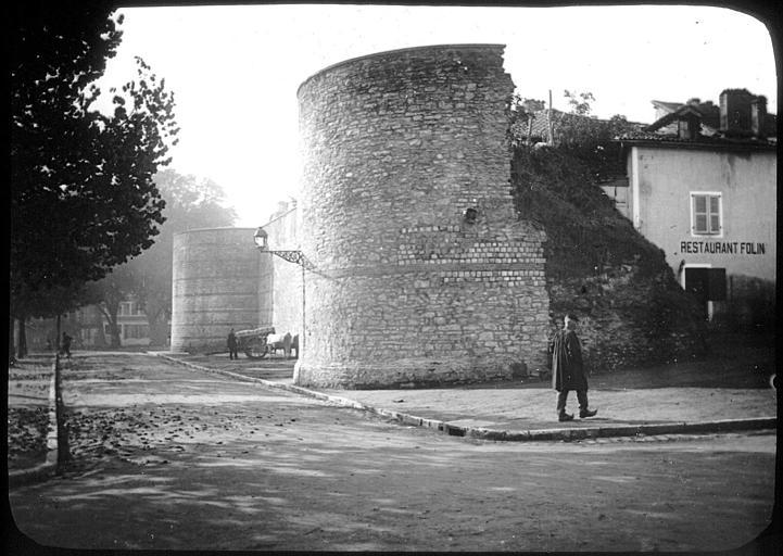 Vestiges des fortifications