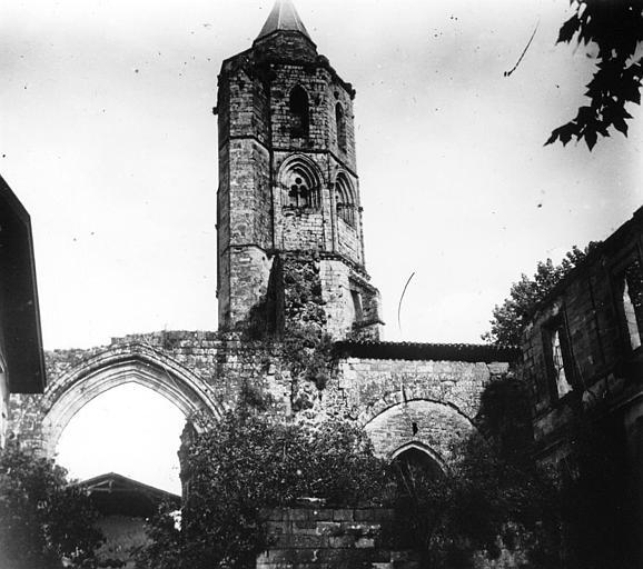 Clocher de l'ancienne abbaye