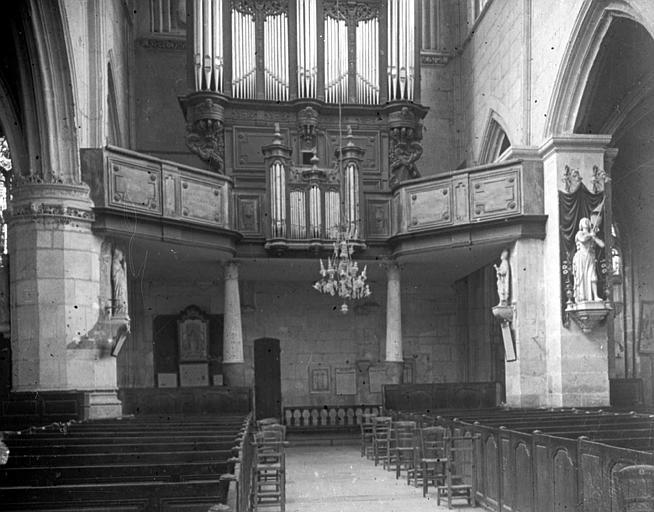 La tribune des orgues