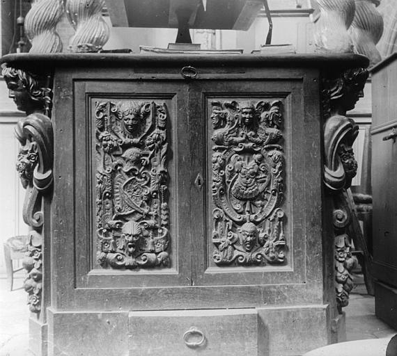 Maître-autel, style Louis XIV.