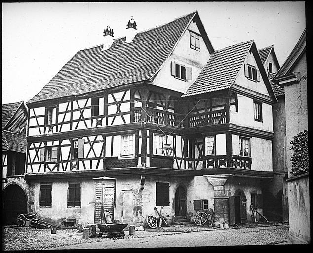 Maison du maréchal ferrant (légende originelle)