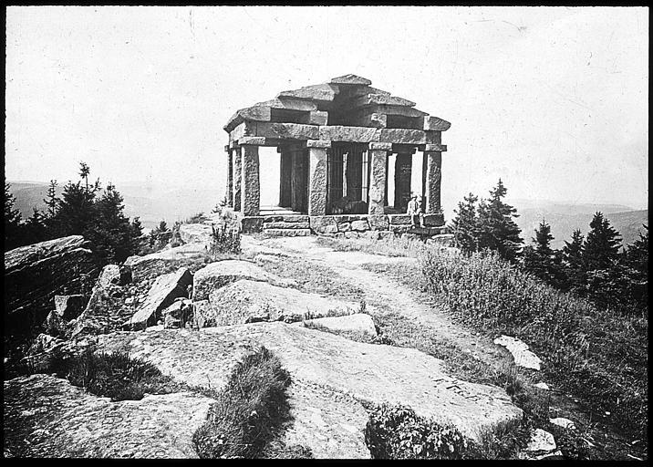 Le 'temple' abritant les pièces archéologiques