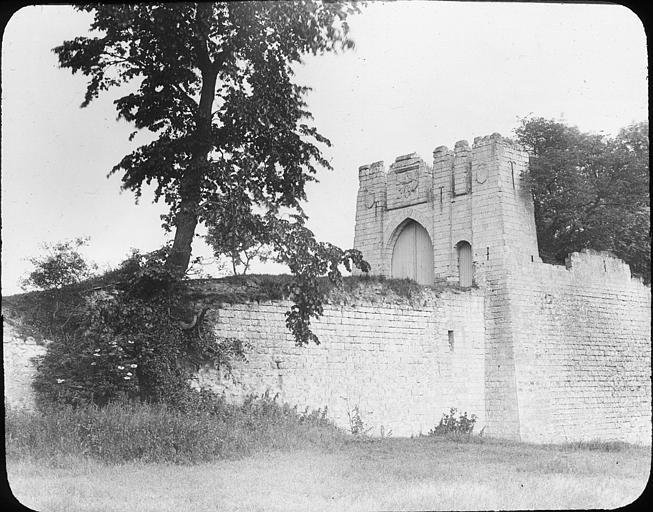 Mur et portail