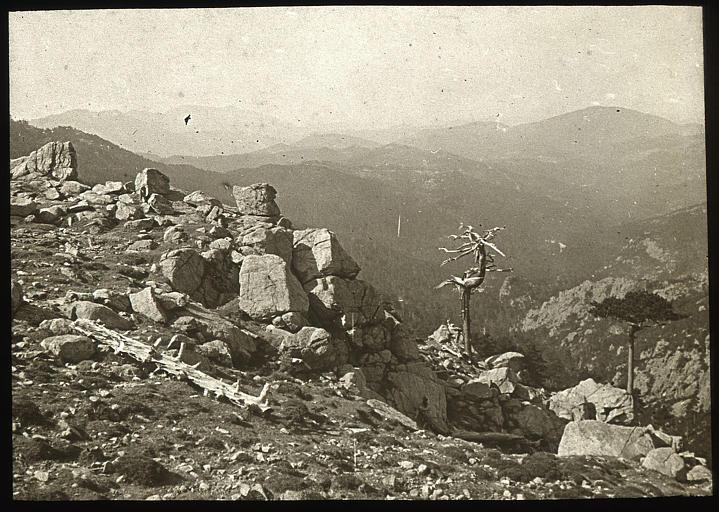 Col de Bavella, vue sur Lévie