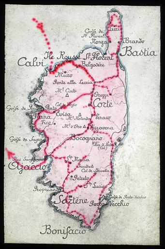 Carte de la quatrième partie du voyage