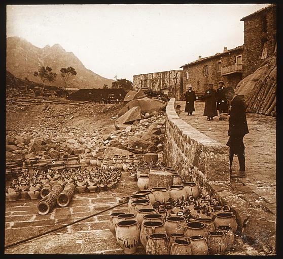 Golfe de Porto : poteries génoises échangées contre du charbon de bois
