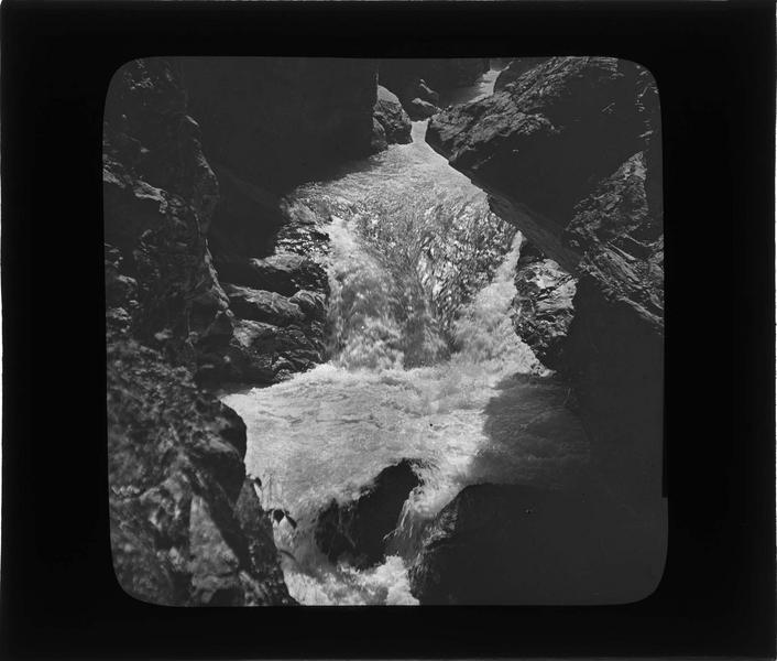 Gorges du Trient, cascade