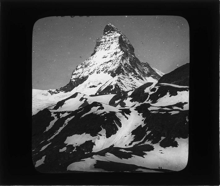 Paysage de montagne : sommet du Cervin, ou Matterhorn