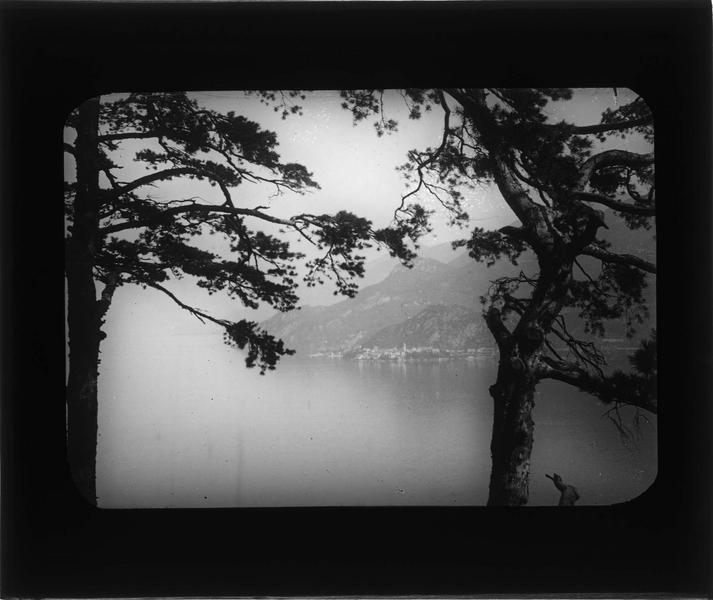 Panorama sur le lac de Côme depuis la villa
