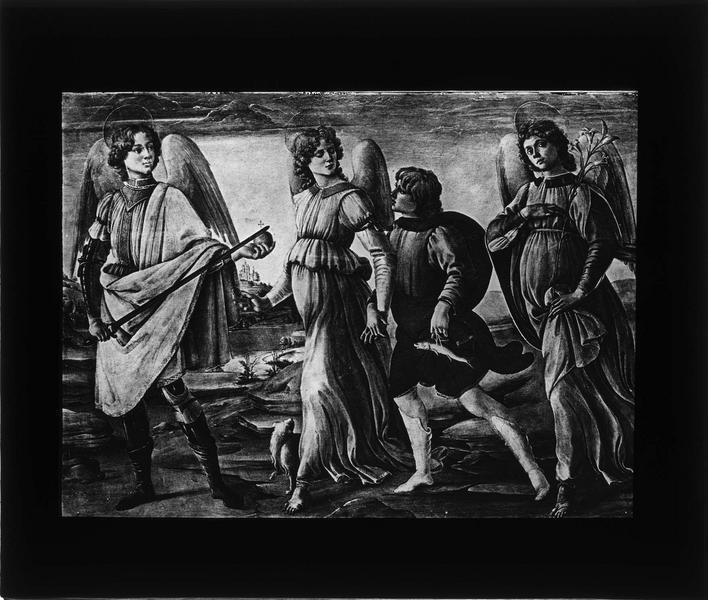 Tableau : Les Trois Archanges avec Tobie