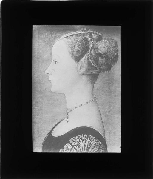 Tableau : portrait d'une femme