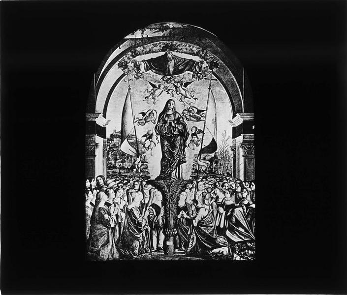 Tableau : Apothéose de sainte Ursule
