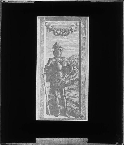 Tableau : saint Georges